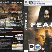 F.E.A.R. 2: Project Origin (2009) CZ/SK PC DVD Covers & Labels