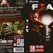 F.E.A.R. 3 (2011) CZ PC DVD Cover & Label