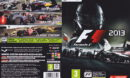 F1 2013 (2013) EU PC DVD Cover & Label