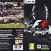 F1 2013 (2013) EU PC DVD Cover & Label
