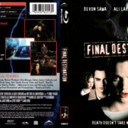 FINAL DESTINATION (2000) BLU-RAY COVER & LABEL
