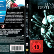 FINAL DESTINATION 5 (2011) (GERMAN) BLU-RAY COVER & LABELS