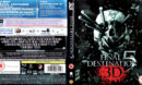 FINAL DESTINATION 5 - 3D (2011) (UK) BLU-RAY COVER & LABEL