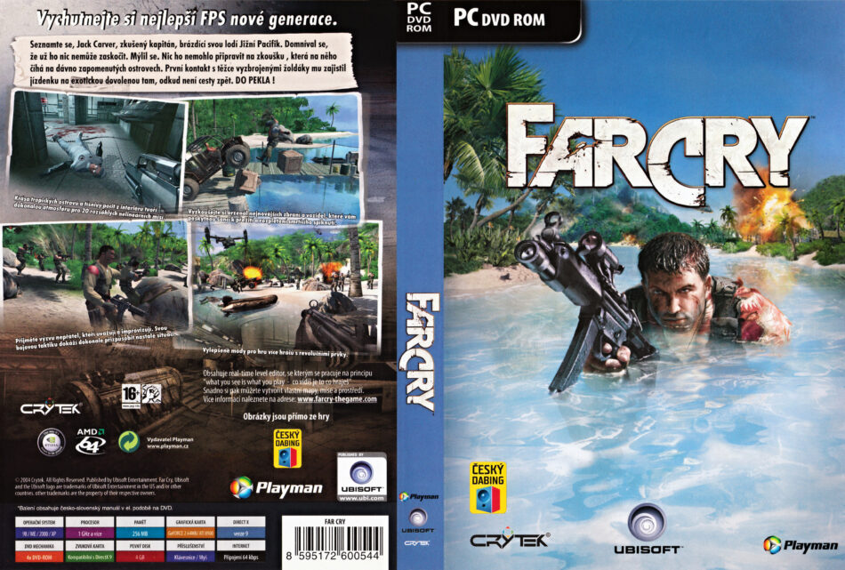 Far Cry 2004 Cz Sk Pc Dvd Covers Labels Dvdcover Com
