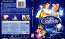CINDERELLA PLATINUM EDITION (1950) R1 DVD COVER & LABELS