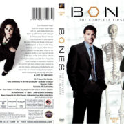 BONES SEASON ONE (2005-2006) R1 DVD COVER & LABELS