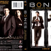 BONES SEASON TWO (2006-2007) R1 DVD COVER & LABELS