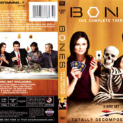 BONES SEASON THREE (2007-2008) R1 DVD COVER & LABELS