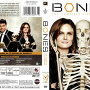 BONES SEASON FIVE (2009-2010) R1 DVD COVER & LABELS