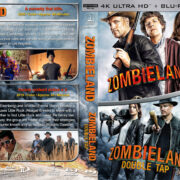 Zombieland Double Feature R1 Custom 4K UHD Blu-Ray Cover
