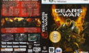 Gears of War (2007) CZ/SK PC DVD Cover & Label