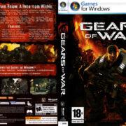 Gears of War (2007) EU PC DVD Cover & Label
