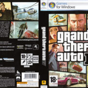 Grand Theft Auto IV (2008) CZ PC DVD Cover & Labels