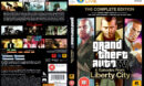Grand Theft Auto IV: The Complete Edition (2010) EU PC DVD Cover & Labels