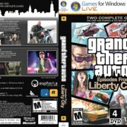 Grand Theft Auto IV: Episodes From Liberty City (2010) EU PC DVD Cover & Labels