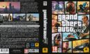 Grand Theft Auto V (2015) EU PC DVD Cover & Labels