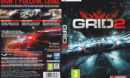 GRiD 2 (2013) EU PC DVD Cover & Label