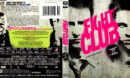 FIGHT CLUB 10TH ANNIVERSARY EDITION (1999) BLU-RAY COVER & LABEL