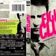 FIGHT CLUB 10TH ANNIVERSARY EDITION (1999) BLU-RAY COVER & LABEL