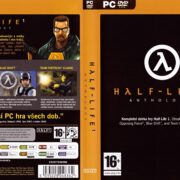 Half-Life 1: Anthology (2005) CZ PC DVD Cover & Label