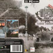 Hidden & Dangerous 2: Sabre Squadron (2004) CZ PC DVD Cover & Labels