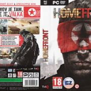 Homefront (2011) CZ/SK PC DVD Cover & Label
