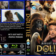 Dolittle (2020) RB Custom Blu-ray Cover