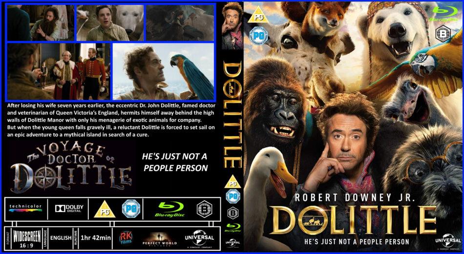 Dolittle 2020 Rb Custom Blu Ray Cover Dvdcover Com