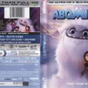 Abominable (2019) 4K UHD Blu-Ray Cover & Labels