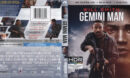 Gemini Man (2019) 4K UHD Blu-Ray Cover & Labels