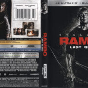 Rambo: Last Blood (2019) RA 4K UHD Blu-Ray Cover & Labels