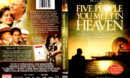THE FIVE PEOPLE YOU WILL MEET IN HEAVEN (2004) R1 DVD COVER & LABEL