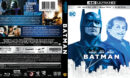Batman (1989) 4K UHD Blu-Ray Cover
