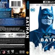 Batman (1989) 4K UHD Blu-Ray Cover