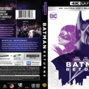 Batman Returns (1992) 4K UHD Blu-Ray Cover