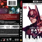 Batman & Robin (1997) 4K UHD Blu-Ray Cover