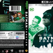 Batman Forever (1995) 4K UHD Blu-Ray Cover
