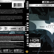 The Dark Knight Trilogy 4K UHD Blu-Ray Cover