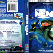 FINDING NEMO (2003) R1 DVD COVER & LABELS