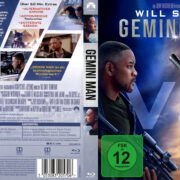 Gemini Man (2019) R2 Custom German Blu-Ray Covers & Label
