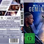 Gemini Man (2019) R2 Custom German 4K UHD Blu-Ray Covers & Label