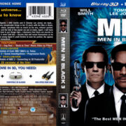Men In Black III (2012) Blu-Ray Cover & Label