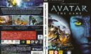James Cameron's Avatar: The Game (2009) CZ/SK PC DVD Covers & Label