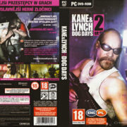 Kane & Lynch 2: Dog Days (2010) CZ PC DVD Cover & Label