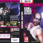 Kane & Lynch 2: Dog Days - Limited Edition (2010) EU PC DVD Cover & Label