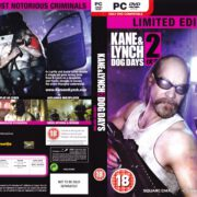 Kane & Lynch 2: Dog Days - Limited Edition (2010) UK PC DVD Cover & Label