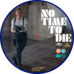 No Time To Die (2020) R2 Custom DVD Label