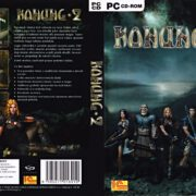 Konung 2 (2004) CZ PC DVD Cover & Label