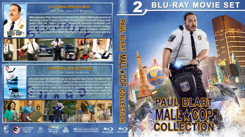 Paul Blart Mall Cop Collection R1 Custom Blu Ray Cover Dvdcover Com