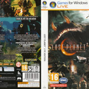 Lost Planet 2 (2010) CZ PC DVD Cover & Labels
